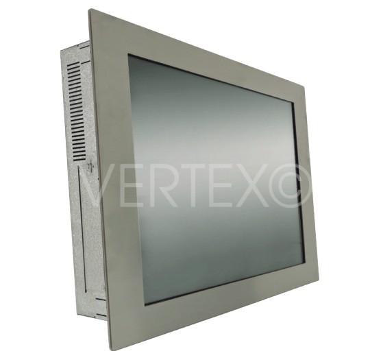 """19"""" Lizard Edelstahl-Panel PC, frontal geschützt nach IP65"""