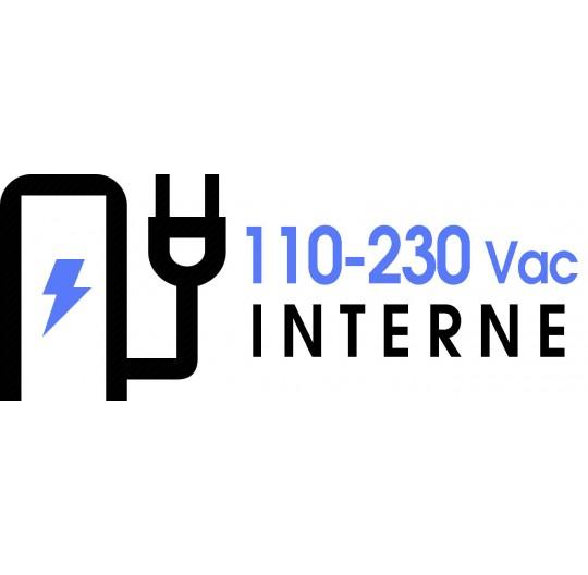 110-230 Vac EXTERNAL POWER SUPPLY